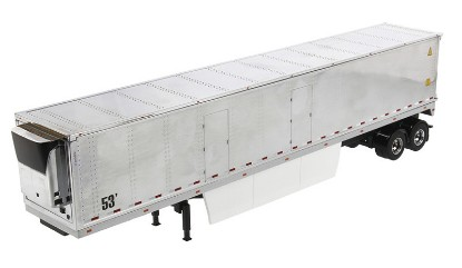 Picture of Refrigerated cargo van trailer with Skirts - chrome