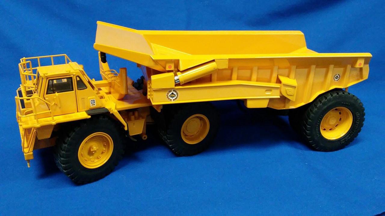 "Picture of Decals - ""Atlas Custom Equipment"" for Caterpillar 776 + RD160 Atlas rear dump trailer by CCM"