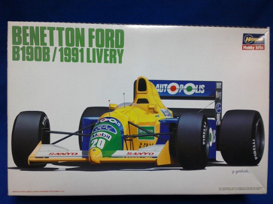Picture of Benetton Ford B1908 Race Car