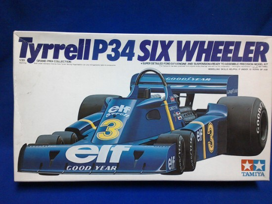 Picture of Tyrrell P34 six wheeler #3