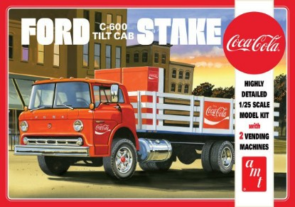 Picture of Ford C-600 Tilt Cab Stake Truck  Coca-Cola