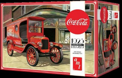 Picture of Ford 1923 Model T delivery truck  Coca-Cola