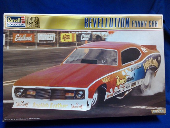 """Picture of Revellution Funny Car  """"The Ace"""" McCulloch"""