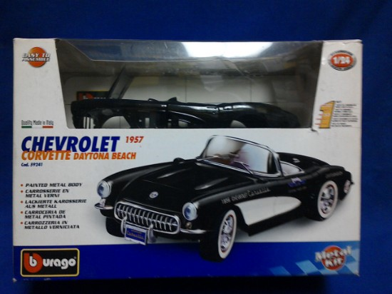 Picture of 1957 Chevrolet Corvette Convertible Daytona Beach- black kit