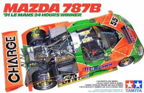 Picture of Mazda 787B  1991 Lemans Winner  RENOWN
