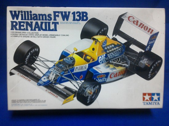 Picture of Renault FW13B Williams F1