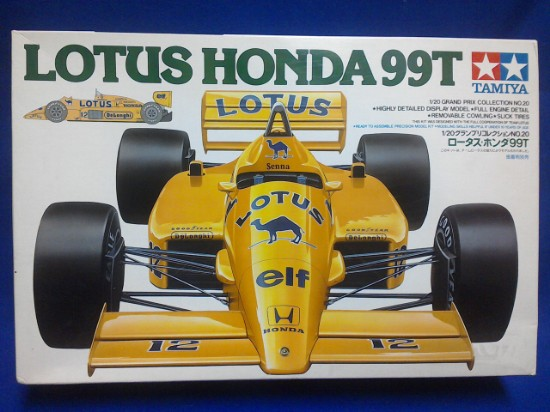 Picture of Honda Lotus 99T F1