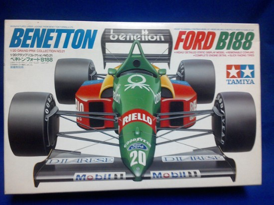 Picture of Ford F1  B188 BENETTON