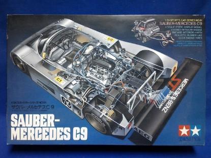 Picture of Mercedes Sauber C9 race car