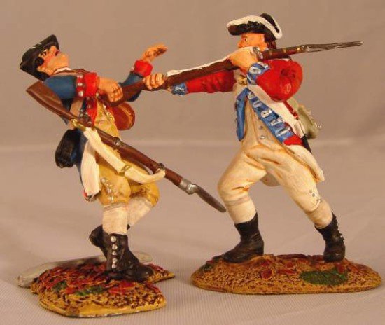 Picture of Hand to Hand Combat -Revolutionary War