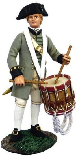 Picture of Colonial Militia Drummer No.1 - Revolutionary War