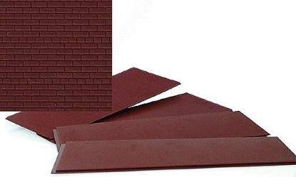 Picture of HO Scale Brick Sheets