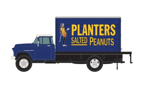 Picture of 1955 Chevrolet Box-Body Delivery Truck - PLANTERS