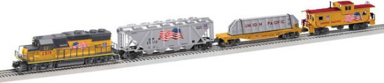 Picture of America Proud Freight Set - 3-Rail - LionChief Bluetooth