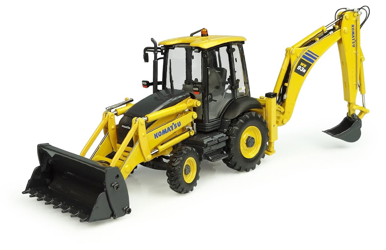 Picture of Komatsu WB93-R tractor loader backhoe