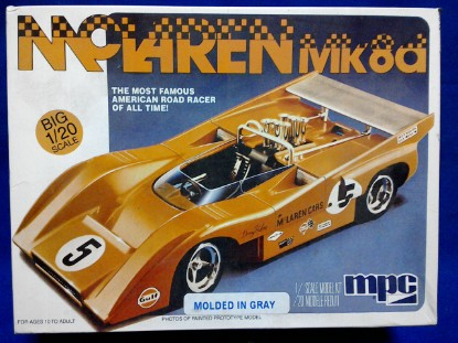 Picture of McLaren Mk 8a race car