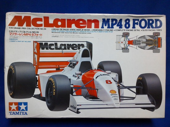 Picture of Ford MP4/8  F1  McLaren