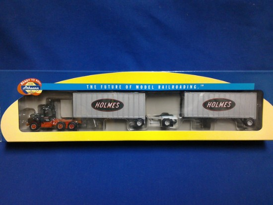 Picture of Mack R w/two 28' Wedge Trailers- HOLMES