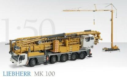 Picture of Liebherr MK100 truck mounted tower crane