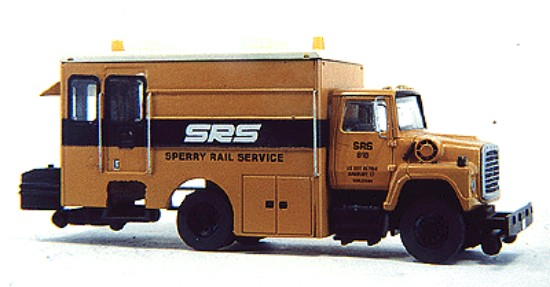 Picture of Sperry rail inspection vehicle