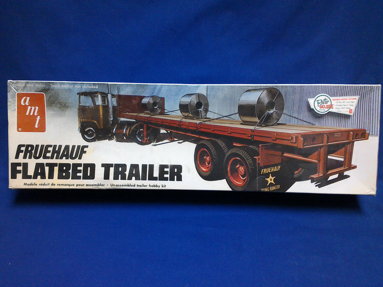 Buffalo Road Imports Peerless Logging Trailer Kit Truck Logging Plastic Kit Amt Ertl Diecast Scale Models