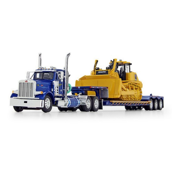 Picture of Peterbilt with Fontaine  Lowboy  Komatsu D155AX-8 SIGMADOZER with Ripper WESTERN DISTRIBUTING
