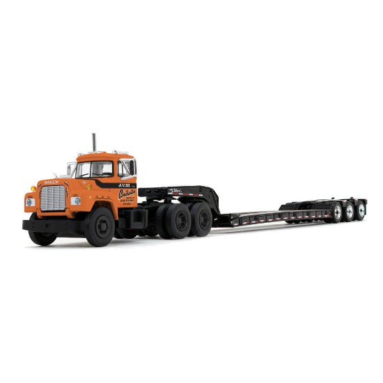 Picture of Mack R with Tri-Axle Lowboy Trailer J.V. III Construction, Inc.