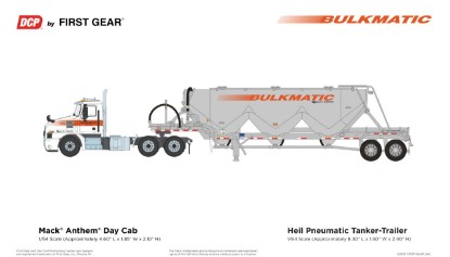 Picture of Mack Anthem with Bulkmatic trailer
