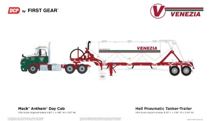 Picture of Mack Anthem with Bulk trailer VENEZIA