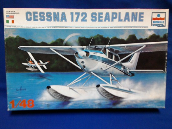 Picture of Cessna 172 Floatplane kit