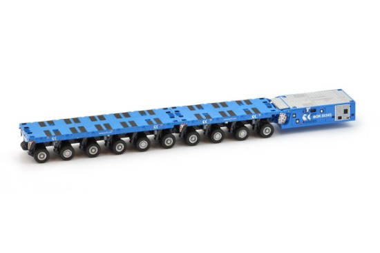 Picture of Scheuerle SPMT 6+4+PPU   BOK SENG  blue