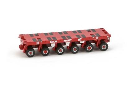 Picture of Scheuerle SPMT 6 axle MAMMOET