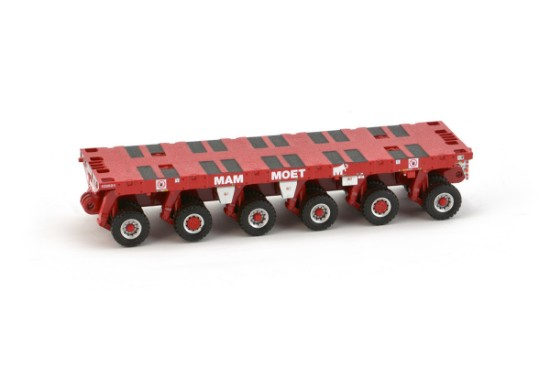 Picture of Scheuerle SPMT 6 axle MAMMOET