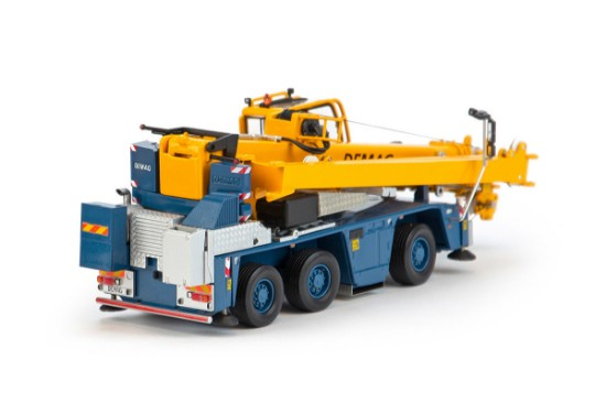 Picture of Terex Demag AC45 crane  - small wheel version
