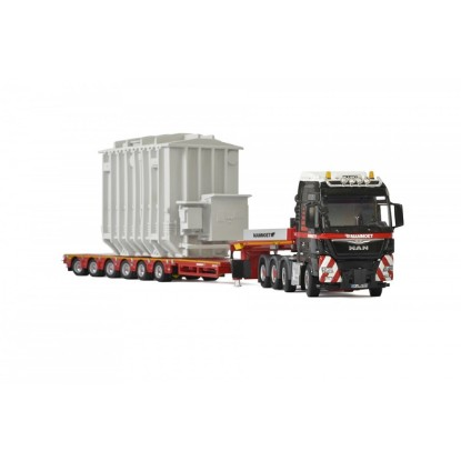 Picture of Mammoet MAN TGX + 6X lowboy with transformer