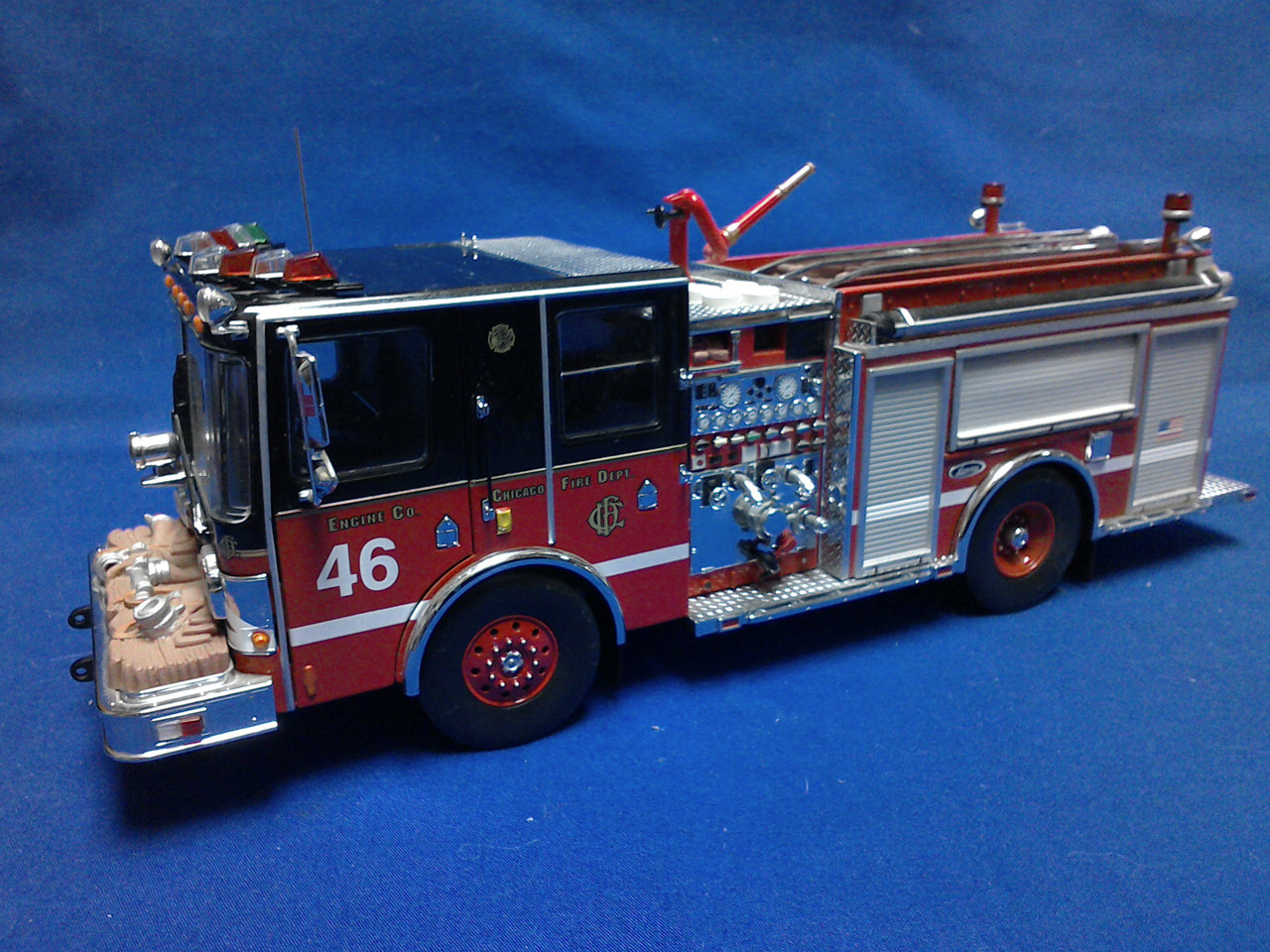 Picture of Chicago Luverne Pumper, Engine 46