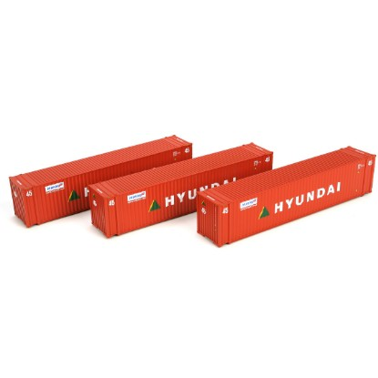 Picture of 45' Container, Hyundai (3-pack)