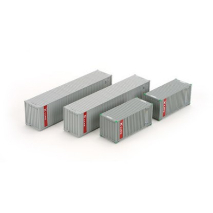 Picture of 20' & 40' Containers, K-Line ( 4-pack)