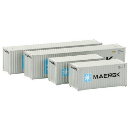 Picture of 20' & 40' Containers, Maersk  (4-pack)