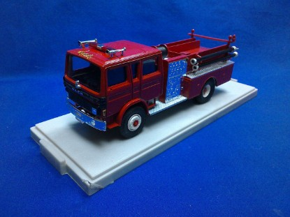 Picture of Mack Pumper Fire Truck - all red
