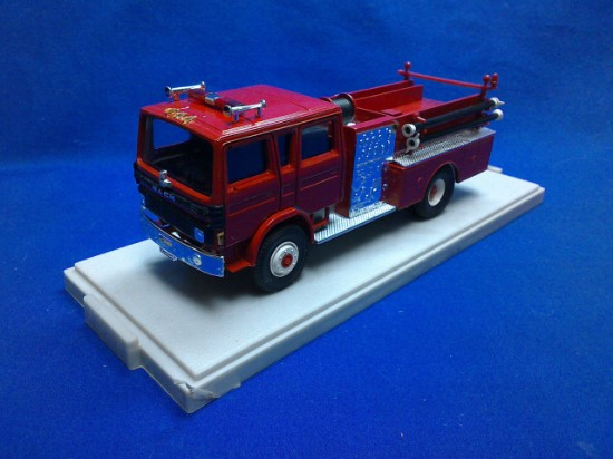 Picture of Mack Pumper Fire Truck - all red