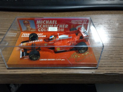 Picture of 97 Ferrari launch version   Michael Schumacher  Collection