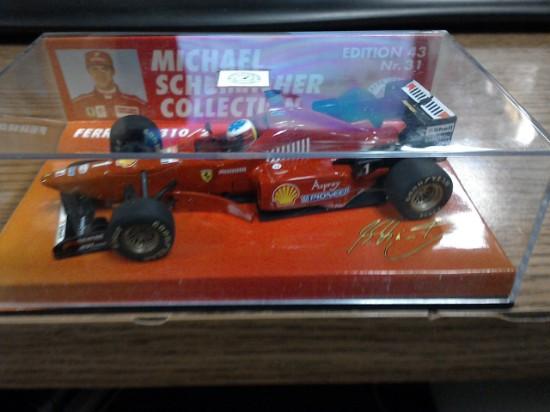 Picture of Ferrari  F 310/2  Michael Schumacher  Collection