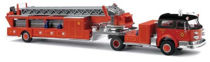 Picture of 1968 American-LaFrance Fire Hook and Ladder Truck with Closed Cab