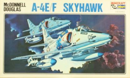 Picture of McDonnel Douglas A-4 E/F Skyhawk Plastic Model Kit