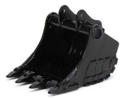 Picture of Reschke rock bucket (70+ ton) - black