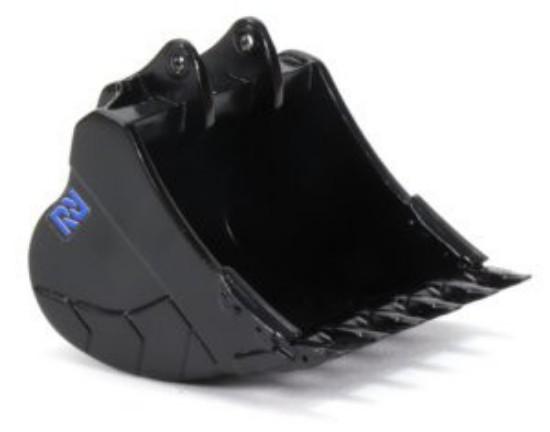 Picture of Reschke high volume bucket (50+ ton) - black