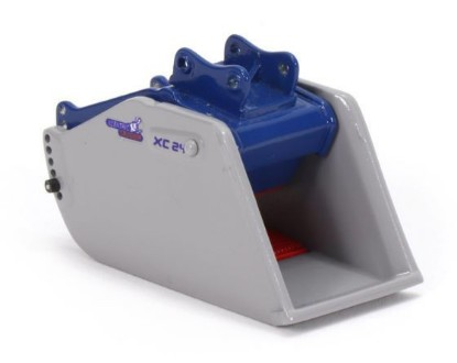 Picture of Xcentric XC24 crusher bucket with quick coupler  20 ton