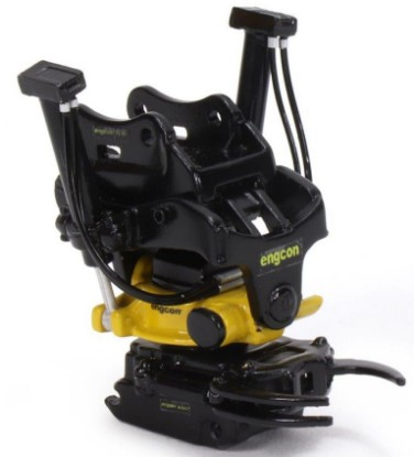 Picture of Engcon EC233 Tiltrotator with grab module 30 ton
