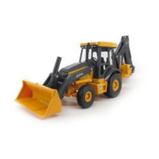 Picture of John Deere 310SL tractor backhoe